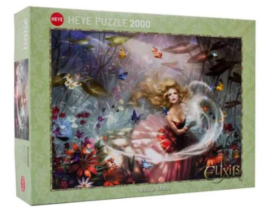 Heye 9 Plus 2000 Pc Puzzle - Delon Make a Wish