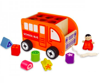 I'm Toy 18 Mths Plus School Bus Sorter