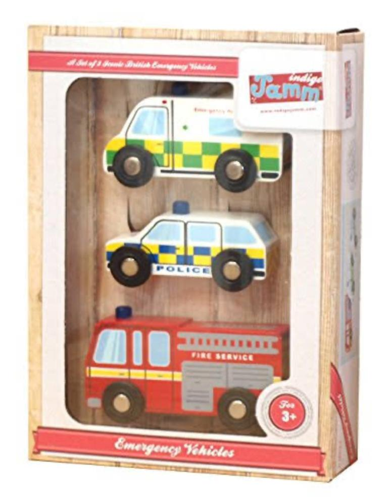 Indigo Jamm 3 Plus Emergency Vehicles