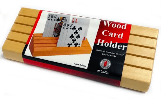 Jedko 6 Plus Wooden Card Holder