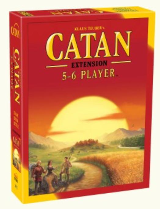 Jedko Family Games Catan 5-6 Player Extension