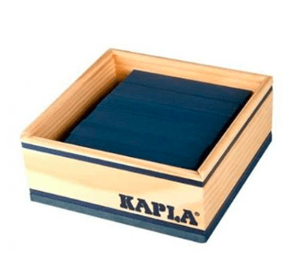Kapla 8 Plus 40pc Dark Blue