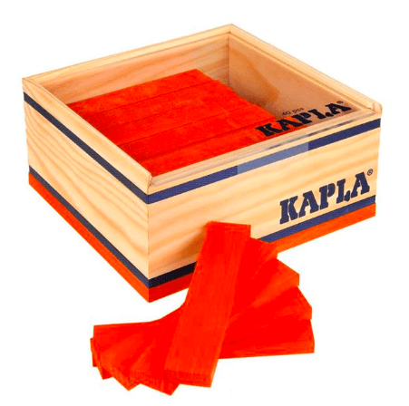 Kapla 8 Plus 40pc Red
