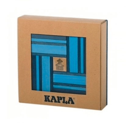 Kapla 8 Plus 40pc with Book Blue