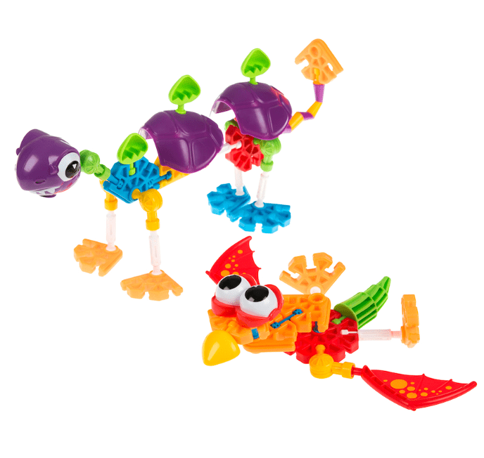 Knex 3 Plus Kid Knex - Dino Dudes 100 pc