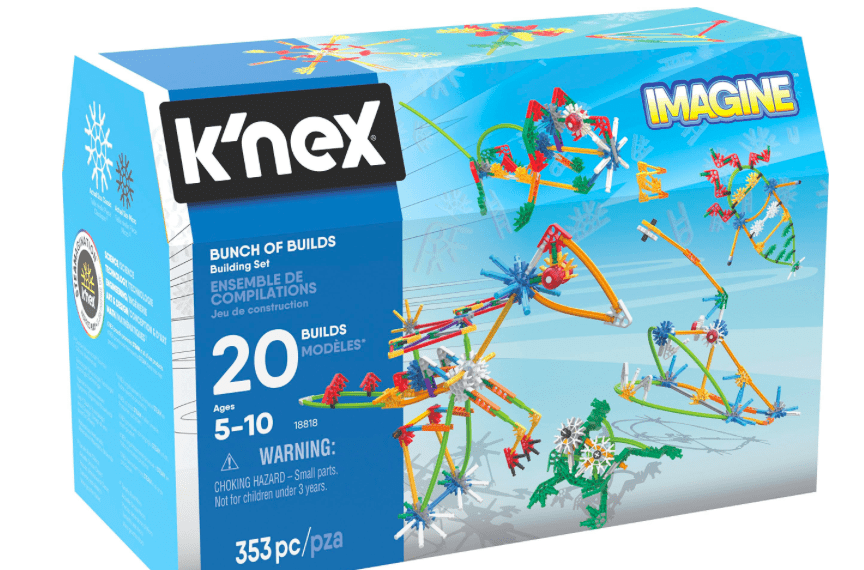 Knex 5 Plus Bunch of Builds - 353 Pc