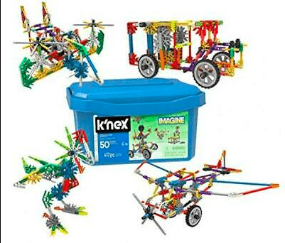 Knex 5 Plus Creation Zone 50 Model Building Set