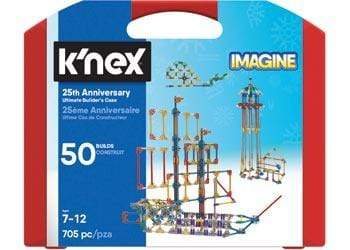 Knex 7 Plus 25th Anniversary Ultimate Builders Case