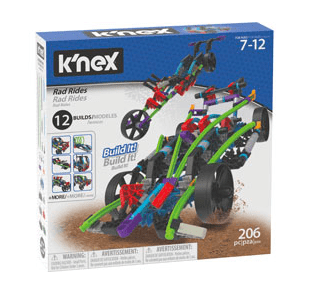 Knex 7 Plus Rad Rides 12 Models