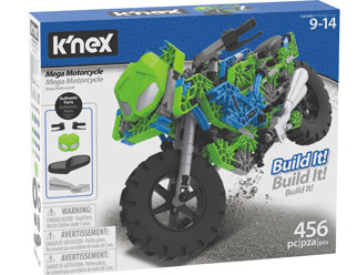 Knex 9 Plus Mega Mororcycle