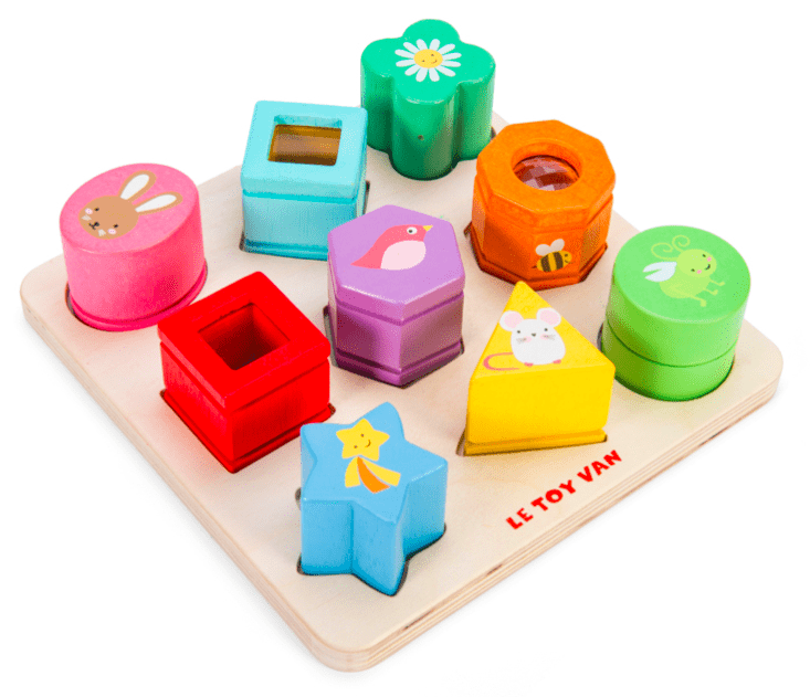 Le Toy Van 1 to 2 Petilou Sensory Shapes