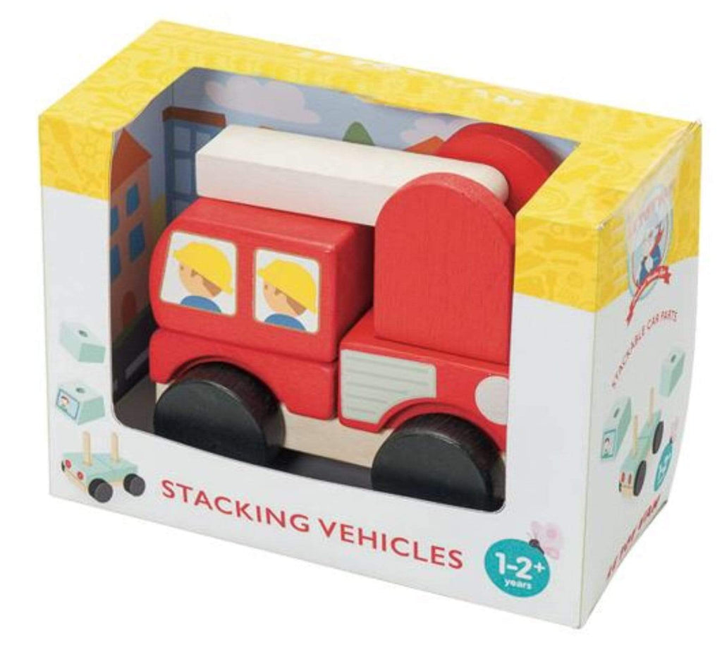 Le Toy Van 12 Mths to 2 Yrs Fire Engine Stacker