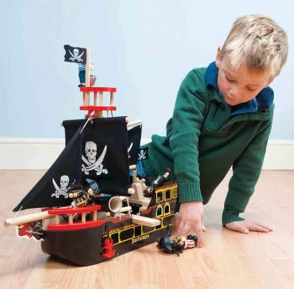 Le Toy Van 3 Plus Barbarossa Pirate Ship