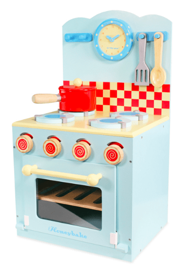 Le Toy Van 3 Plus Blue Oven & Hob