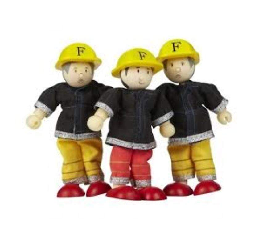 Le Toy Van 3 Plus Budkins Firefighters