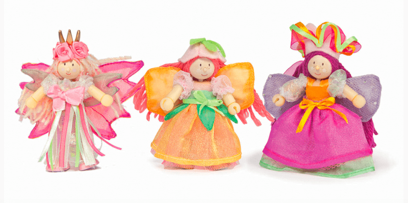 Le Toy Van 3 Plus Budkins Garden Fairies