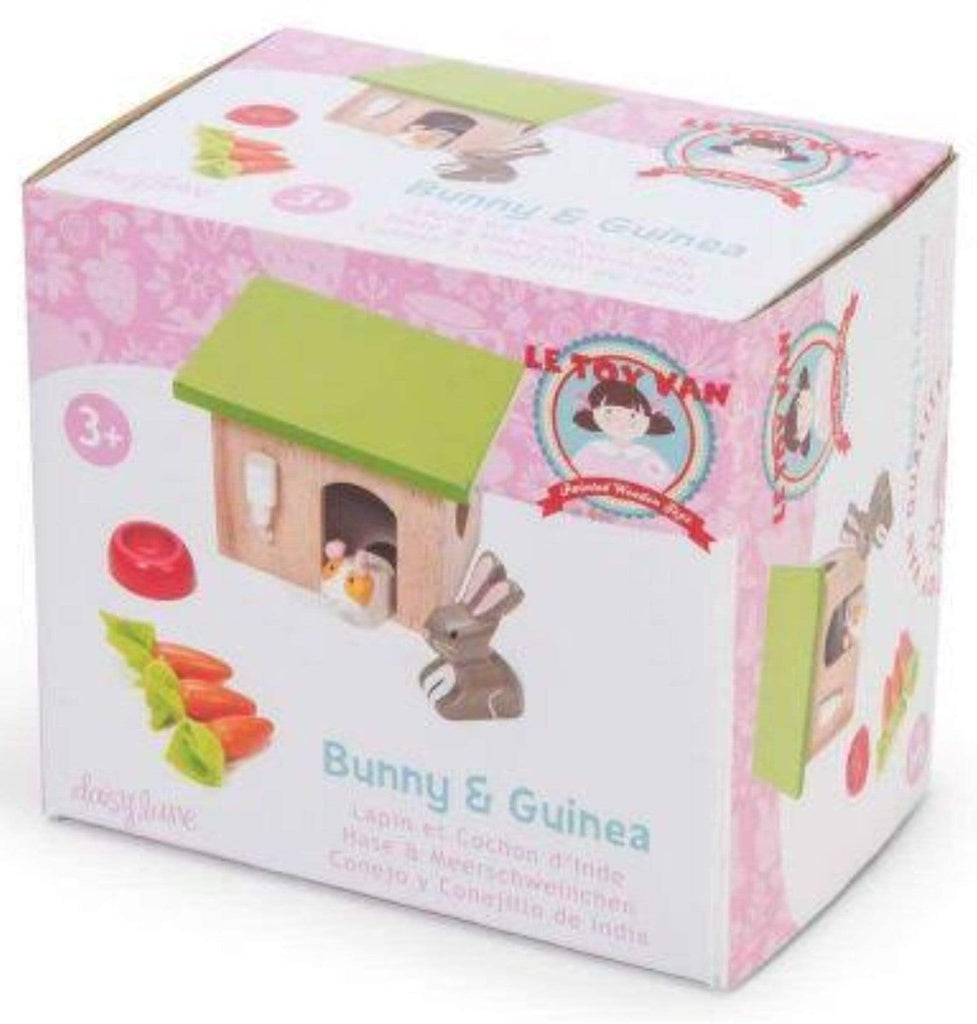 Le Toy Van 3 Plus Bunny & Guinea