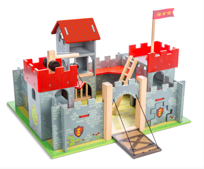 Le Toy Van 3 Plus Castle - Red Camelot