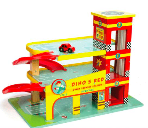 Le Toy Van 3 Plus Dino's Garage