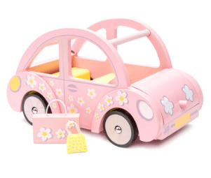 Le Toy Van 3 Plus Dolls House Accessories - Sophie's Car