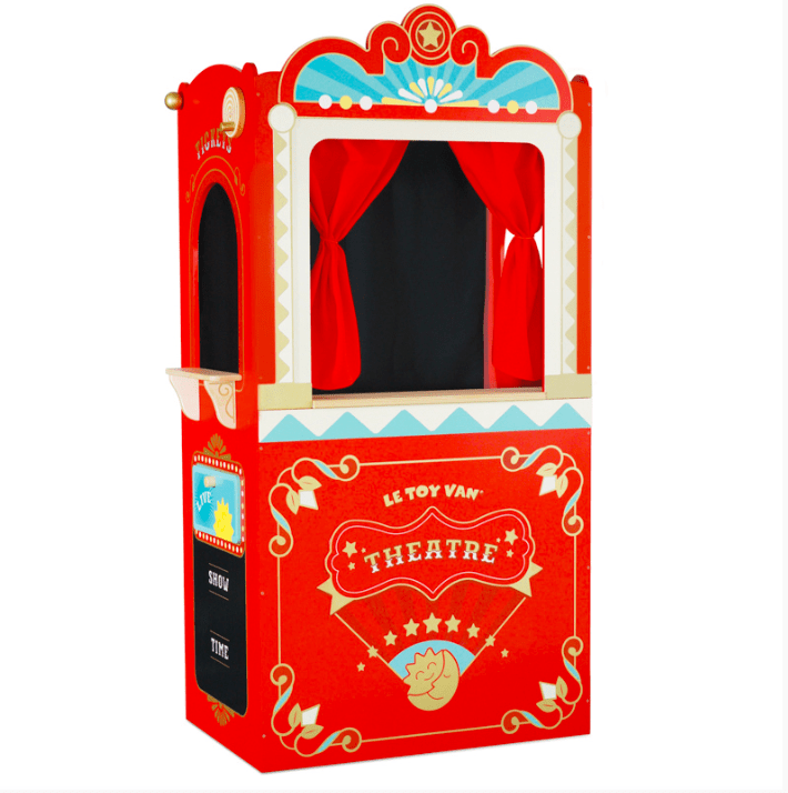 Le Toy Van 3 Plus Honeybake Showtime Puppet Theatre