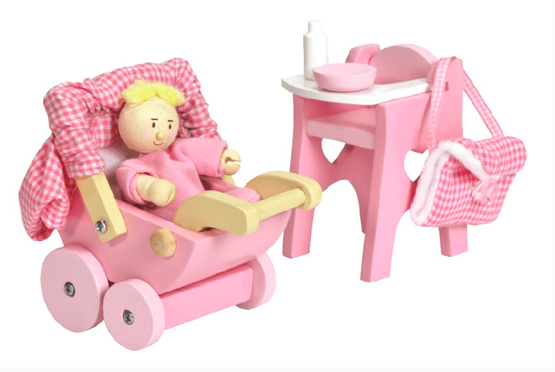 Le Toy Van 3 Plus Nursery Accessory Set
