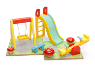 Le Toy Van 3 Plus Outdoor Playset with Swing
