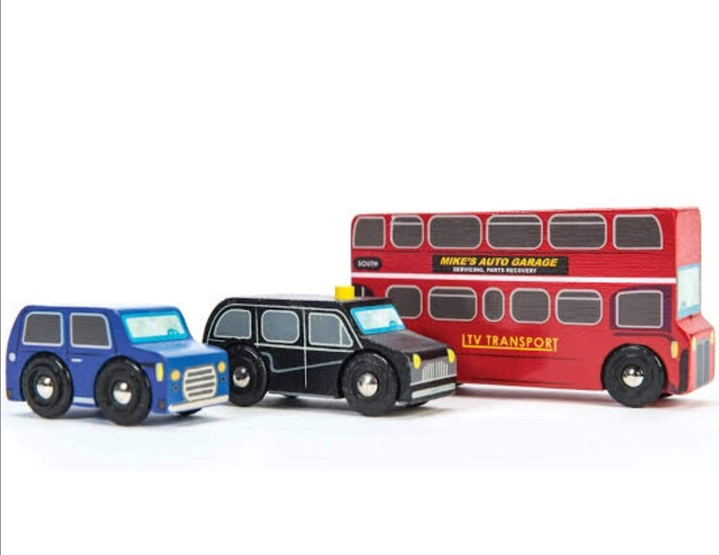 Le Toy Van 3 Plus Vehicle - Little London Vehicle Set