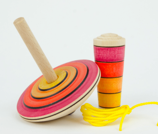 Mader 3 Plus My First Spinning Top with Starter