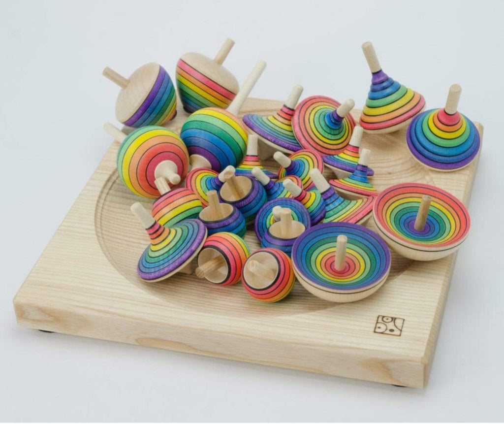 Mader 3 Plus Rainbow Spinning Top