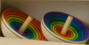 Mader 3 Plus UFO Rainbow Spinning Top