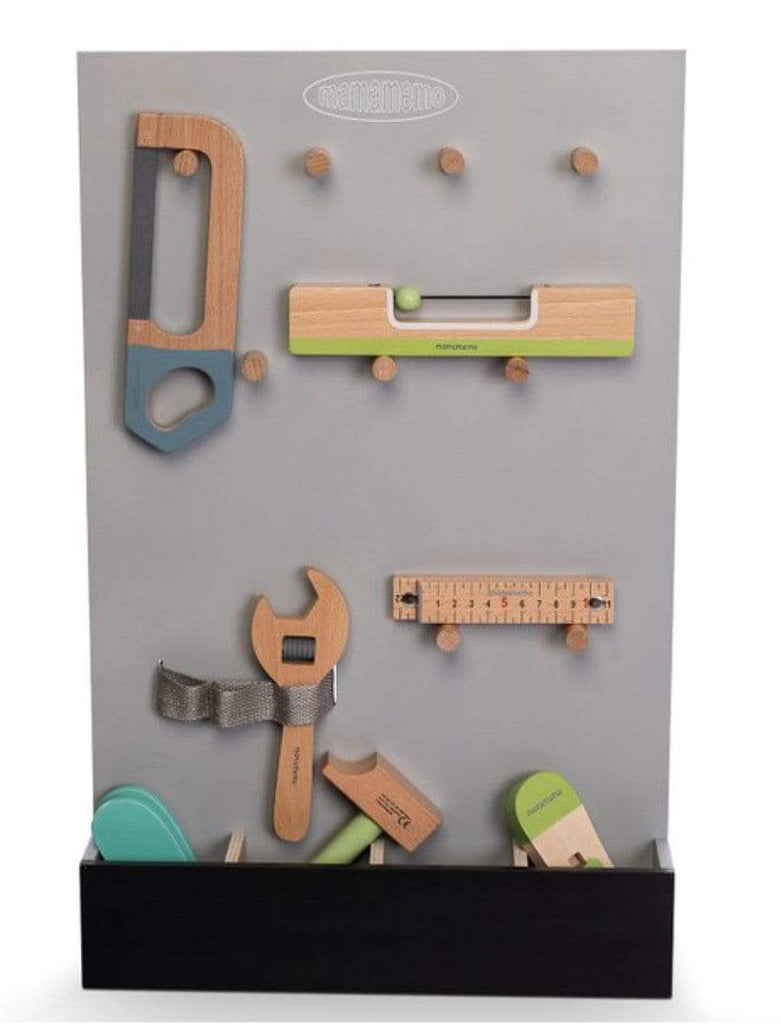 MamaMemo 3 Plus Wooden Workshop - Tool Storage