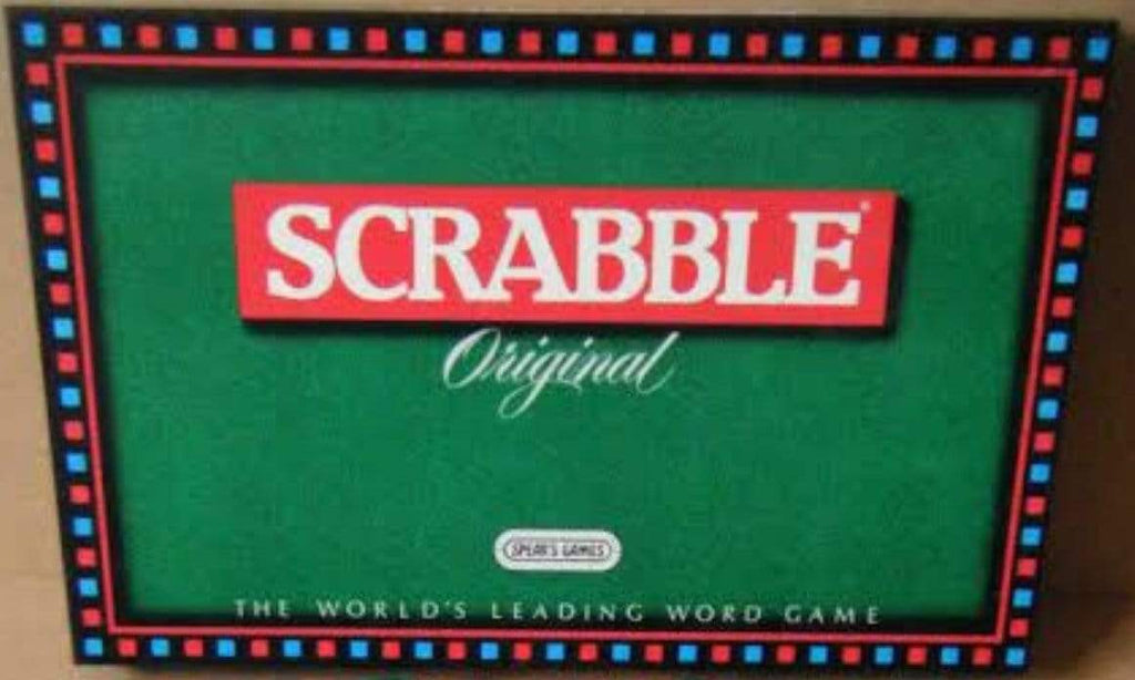 Mattel Family Games Scrabble Original