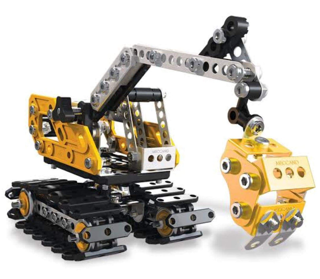 Meccano 10 Plus Excavator Set