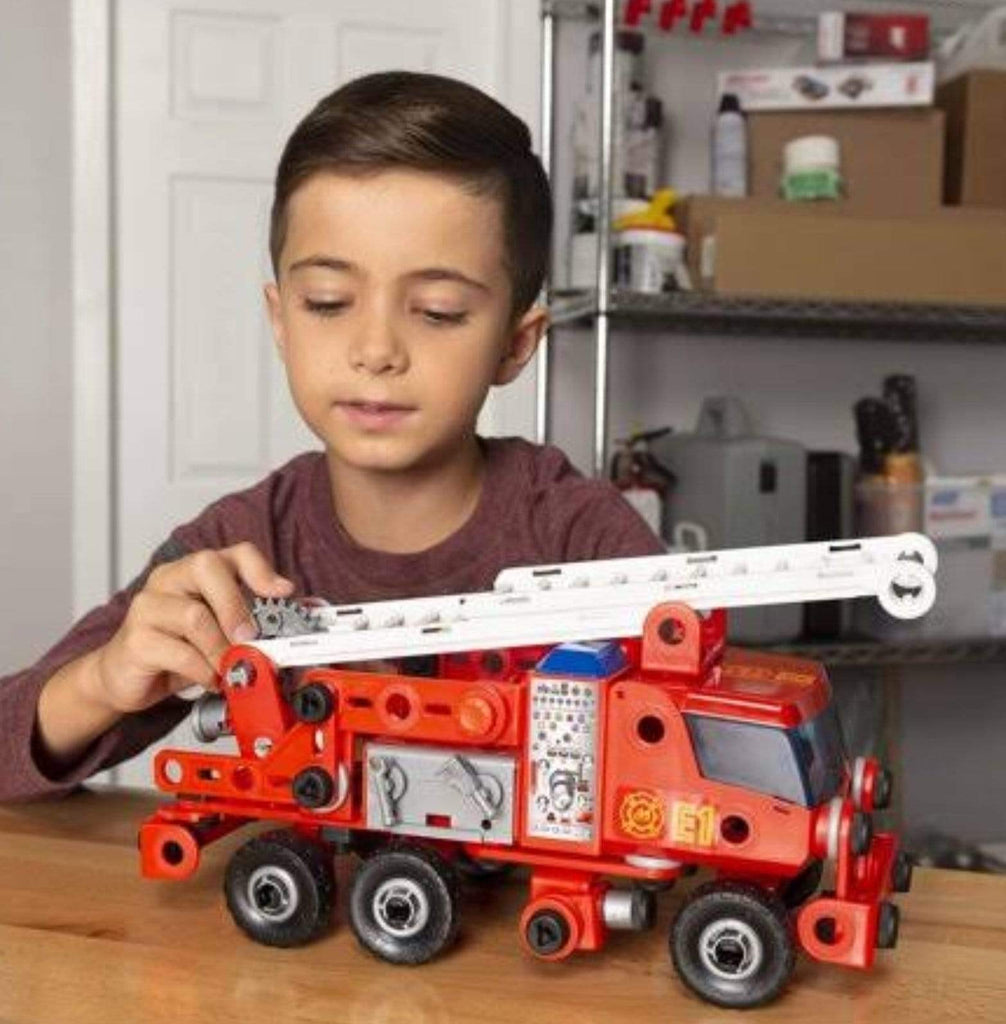 Meccano 4 to 5 Years Junior Fire Engine Deluxe