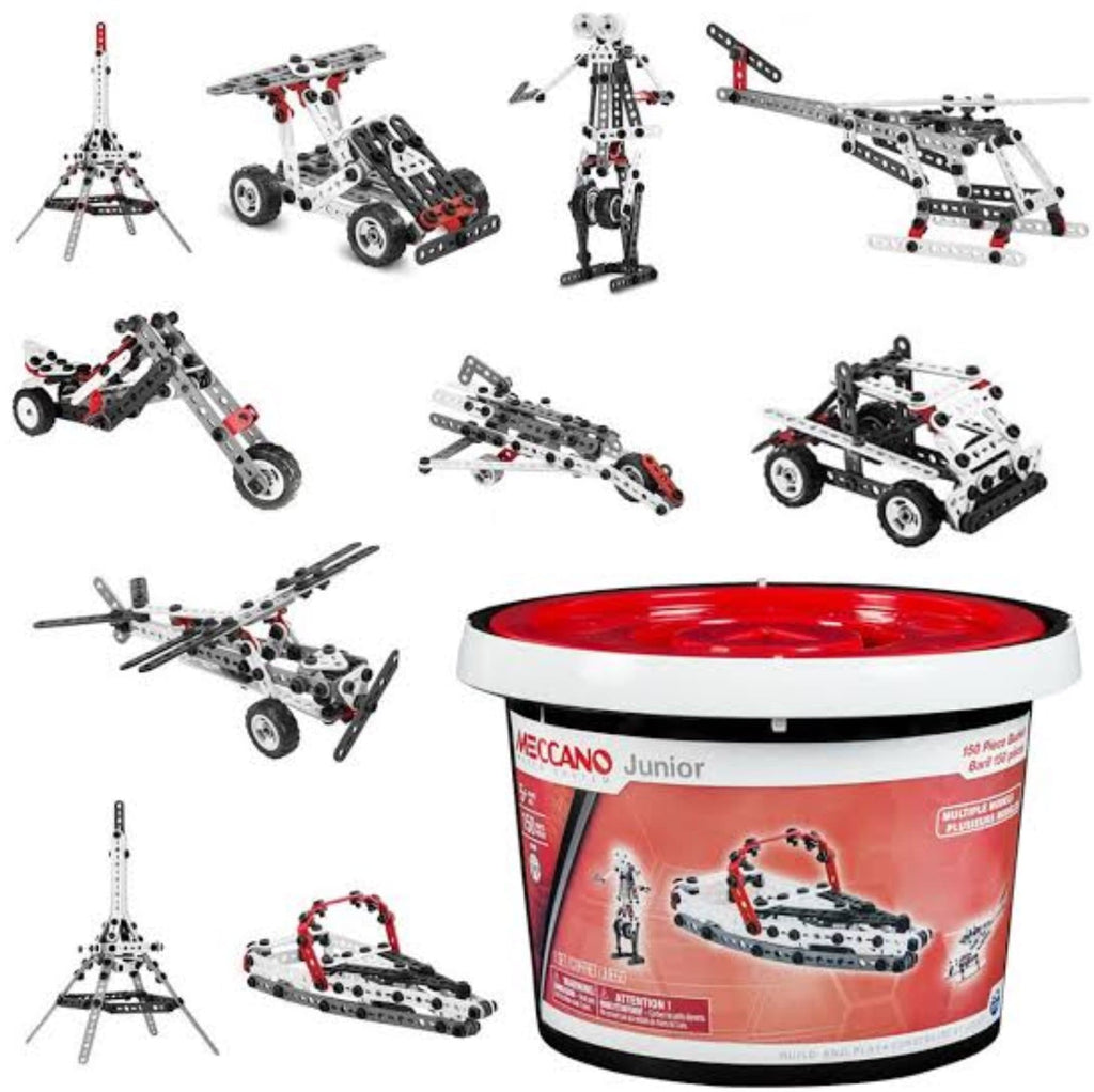 Meccano 5 Plus Junior 150 Piece Bucket