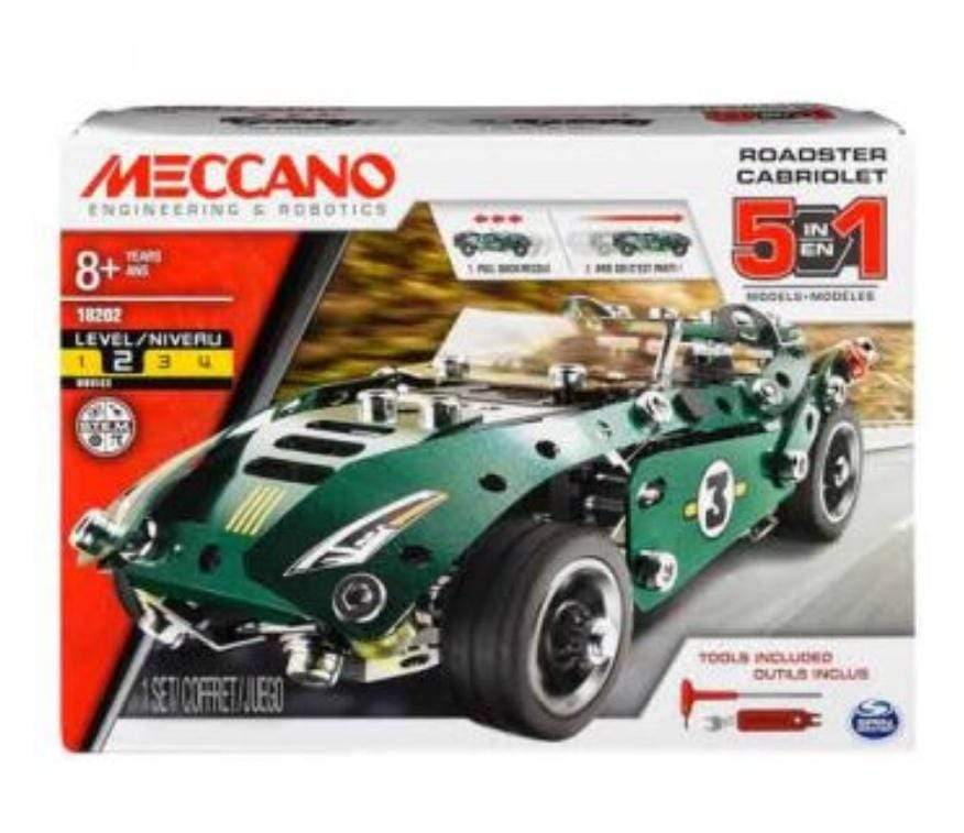 Meccano 8 Plus 5 Model Pull Back Car
