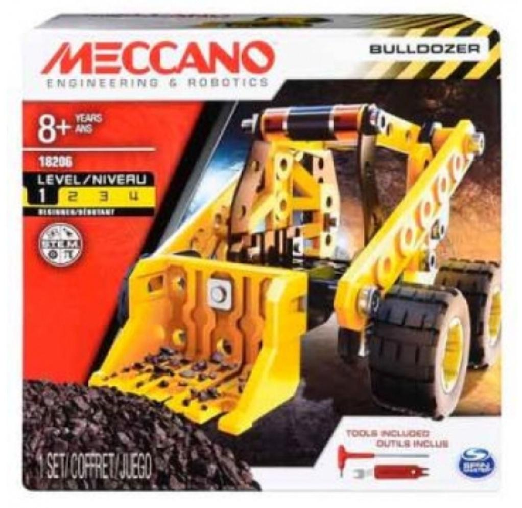 Meccano 8 Plus Bulldozer