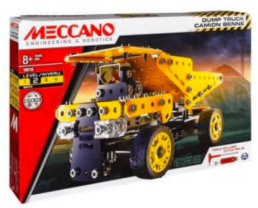 Meccano 8 Plus Dump Truck Set