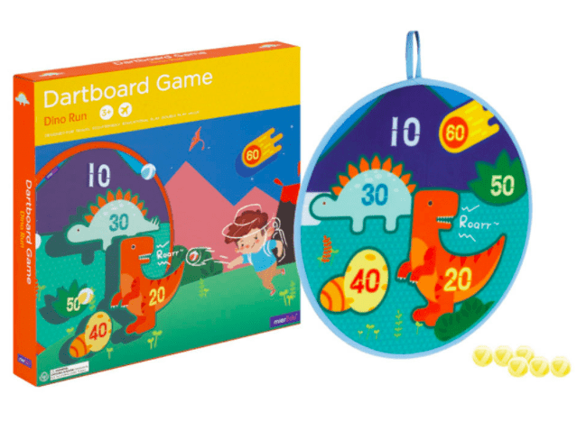 MierEdu 3 Plus Dartboard Game - Dino World