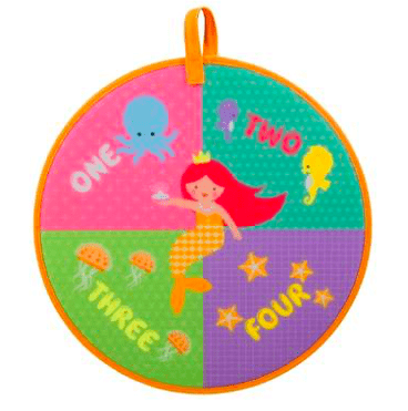 MierEdu 3 Plus Dartboard Game - Mermaid Treasure
