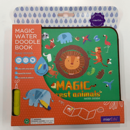 MierEdu 3 Plus Magic Water Doodle Book - Forest Animals