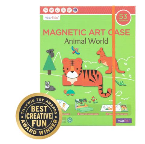 MierEdu 3 Plus Magnetic Art Case - Animal World