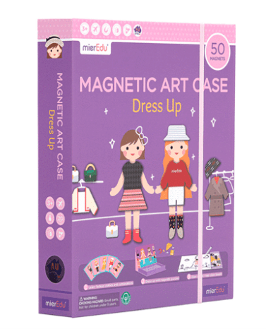 MierEdu 3 Plus Magnetic Art Case - Dress Up