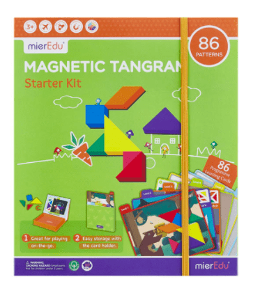 MierEdu 3 Plus Magnetic Tangram - Starter Kit
