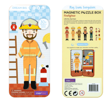 MierEdu 3 Plus Puzzle Box - Fire Fighter