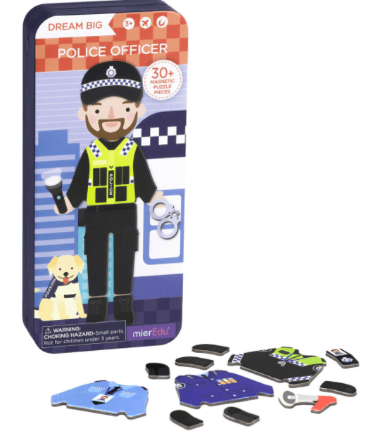 MierEdu 3 Plus Puzzle Box - Police Officer