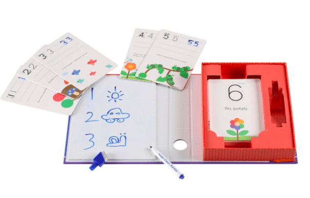 MierEdu 3 Plus Wipe-Clean Activity Set - Numbers