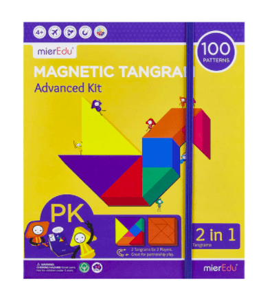 MierEdu 4 Plus Magnetic Tangram - Advanced Kit