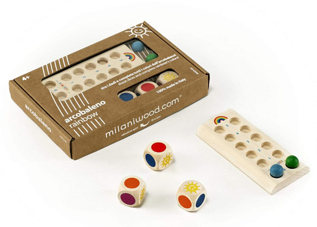 Milaniwood 4 Plus Rainbow Game
